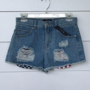 High Rise Forever 21 Jean Shorts - NWT